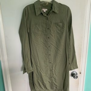 NWOT Merona Button Down Dress